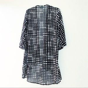 Sheer Dotted Cardigan